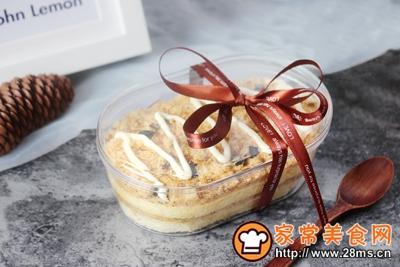 海苔肉松盒子蛋糕肉松小贝变身的做法图解16