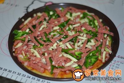 藜麦培根薄底披萨的做法图解7