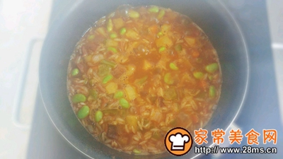 火辣孜然炸蔬饭的做法图解7