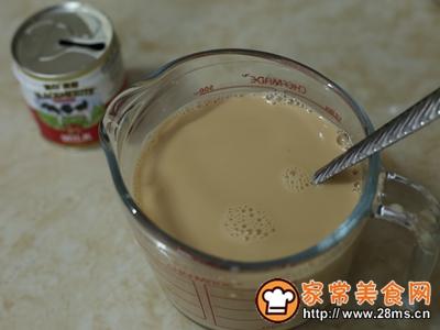 珍珠奶茶流心蛋糕的做法图解3