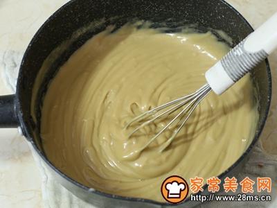 珍珠奶茶流心蛋糕的做法图解8