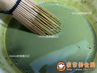 嫩滑抹茶豆腐布丁的做法图解2