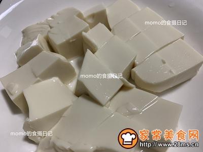 嫩滑抹茶豆腐布丁的做法图解4
