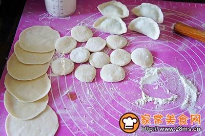 茴香鹅蛋馅水饺的做法图解9