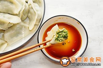 茴香鹅蛋馅水饺的做法图解11