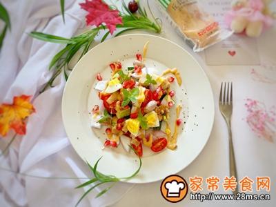 减肥必备蔬菜鸡胸肉沙拉的做法图解5