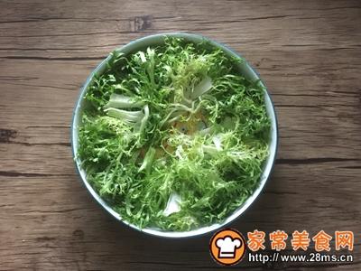 简单快手秋葵卤鸡沙拉的做法图解5