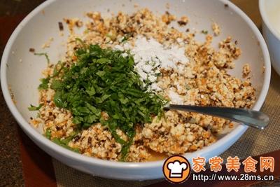 素食好主意白菜卤素食蛋饺的做法图解3