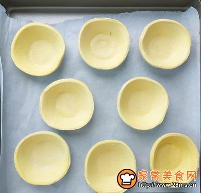 葡式蛋挞无淡奶油、全蛋的做法图解9