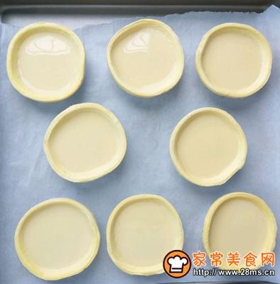 葡式蛋挞无淡奶油、全蛋的做法图解10