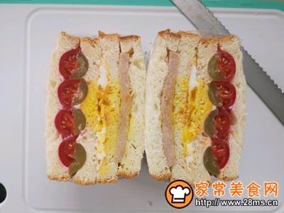 水果沙拉三明治的做法图解8