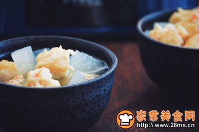 冬瓜肉丸汤的做法图解10