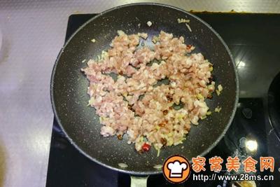 酸豆角肉末的做法图解5