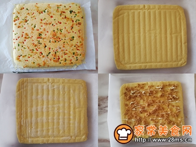 肉松蛋糕卷的做法图解8