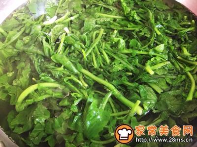 秋季保健萝卜苗黄豆粉小豆腐的做法图解3