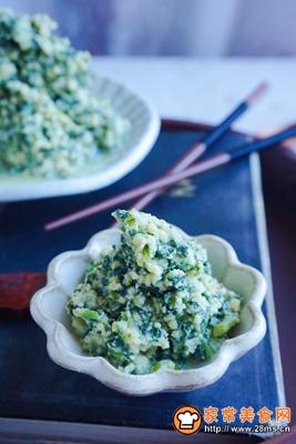 秋季保健萝卜苗黄豆粉小豆腐的做法图解13