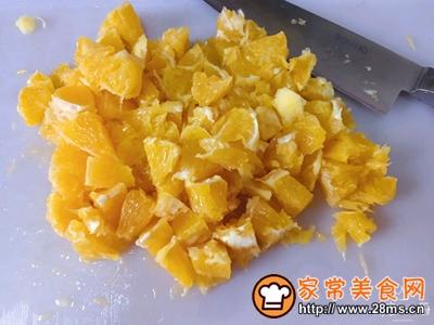 香橙甜虾沙拉的做法图解3