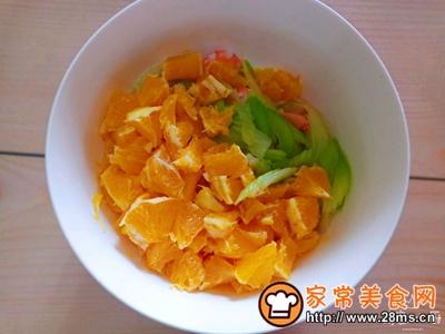 香橙甜虾沙拉的做法图解5