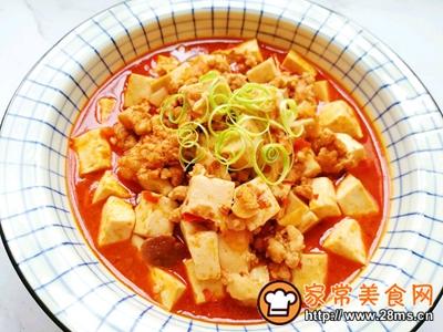 肉末烧豆腐的做法图解16