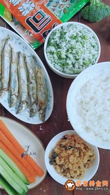 多春鱼肉松寿司的做法图解5