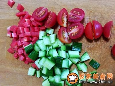 虾球杂蔬沙拉的做法图解6