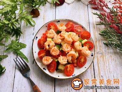 虾球杂蔬沙拉的做法图解7
