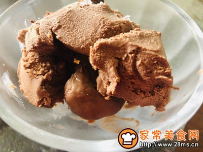 巧克力咖啡冰淇淋的做法图解4
