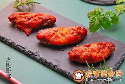 蜂蜜椰香烤鸡翅的做法图解12