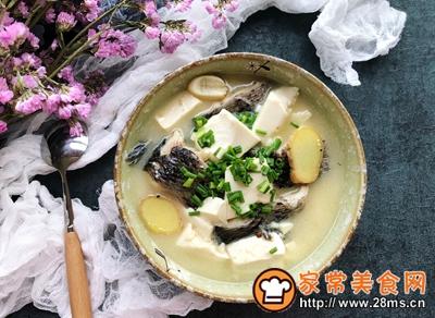 黑鱼豆腐汤的做法图解9