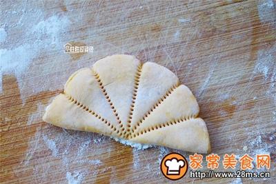 南瓜荷叶饼的做法图解8