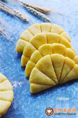 南瓜荷叶饼的做法图解10