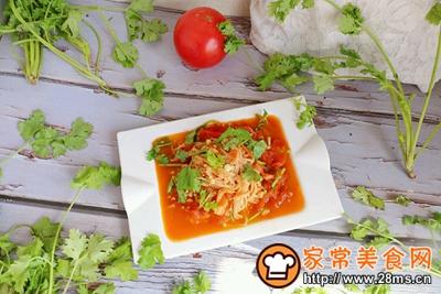 茄汁金针菇的做法图解9