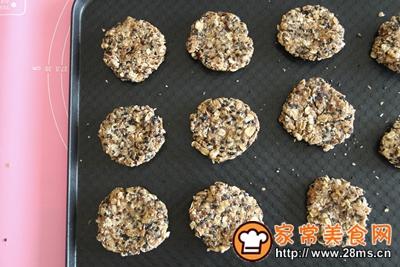 红糖椰油麦片饼的做法图解7