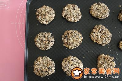 红糖椰油麦片饼的做法图解9