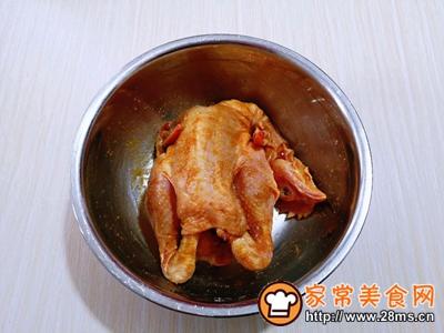 香酥烤鸡的做法图解3