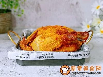 香酥烤鸡的做法图解10