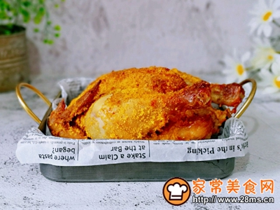 香酥烤鸡的做法图解11