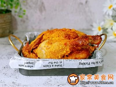 香酥烤鸡的做法图解12