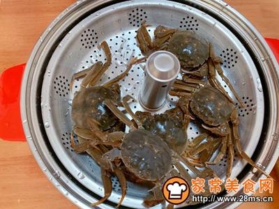 清蒸螃蟹的做法图解2