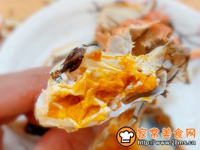 清蒸螃蟹的做法图解9