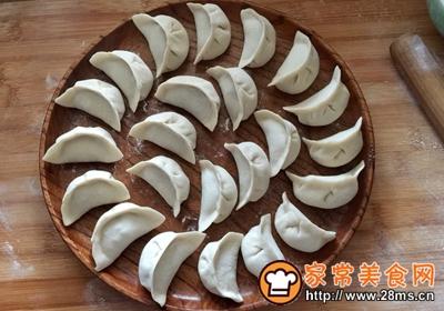 蒲瓜牛肉玉米馅饺子的做法图解8