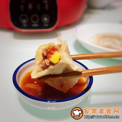 蒲瓜牛肉玉米馅饺子的做法图解12