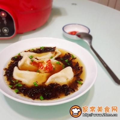 蒲瓜牛肉玉米馅饺子的做法图解13