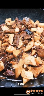 热辣暖胃笋子红烧牛肉的做法图解13