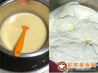 香蕉白巧芝士慕斯蛋糕的做法图解19
