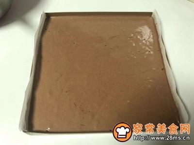 圣诞树桩蛋糕的做法图解13