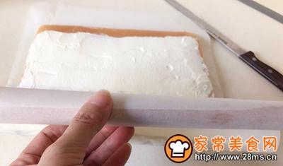 棋格奶油蛋糕卷的做法图解27