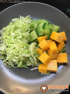 金枪鱼蔬菜水果沙拉的做法图解6