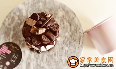 淋面蛋糕的做法图解8