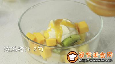 柳橙水果沙拉的做法图解5